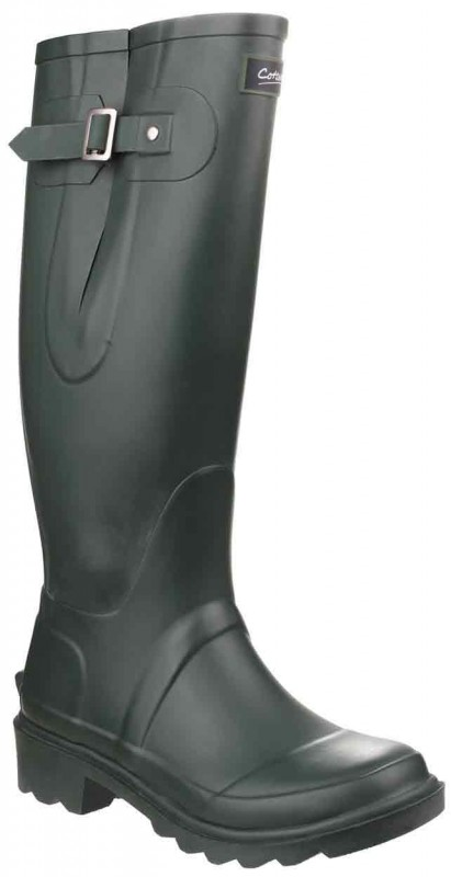 Cotswold Ragley Wellington Boot Green