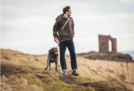 Hoggs of Fife Struther Zip Through Jacket