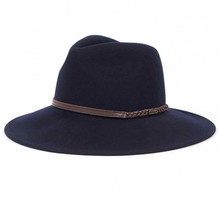Barbour Tack Fedora Navy