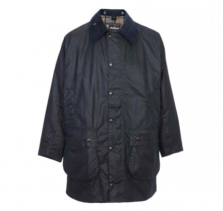 Barbour Border Jacket Navy