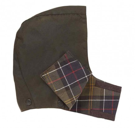 Barbour Childrens Wax Hood Olive