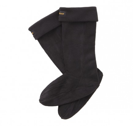 Barbour Fleece Wellington Sock Black