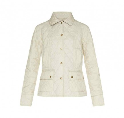 Barbour Summer Beadnell Quilt Pearl
