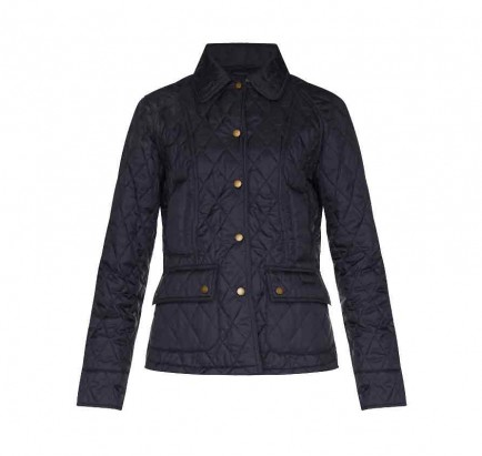 Barbour Summer Beadnell Quilt Navy