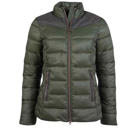 Barbour Ingham Quilted Jacket Olive