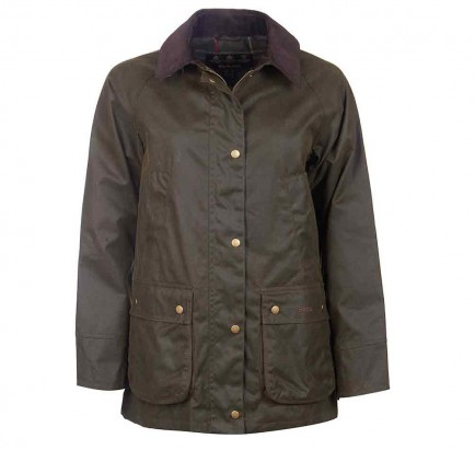 Barbour Acorn Wax Jacket Olive