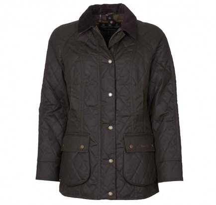 Barbour Gibbon Wax Jacket Olive/Classic