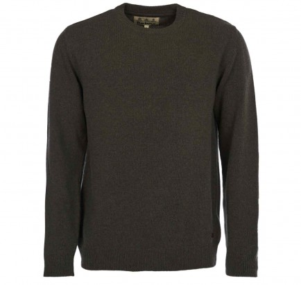 Barbour Nelson Essential Crewneck Sweater Seaweed