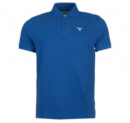 Barbour Sports Polo Deep Blue