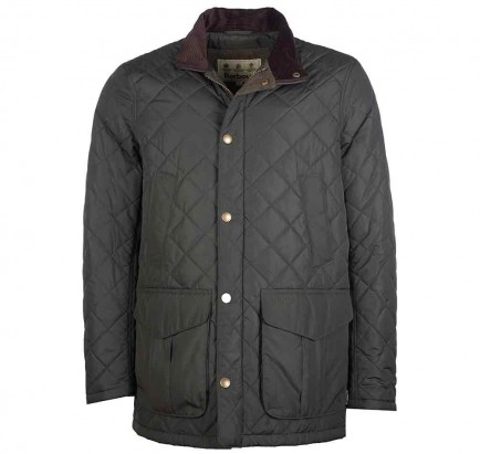 Barbour Devon Quilted Jacket Sage