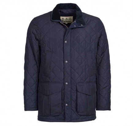 Barbour Devon Quilted Jacket Navy