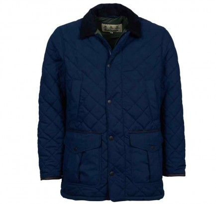 Barbour Langdale Quilt Navy