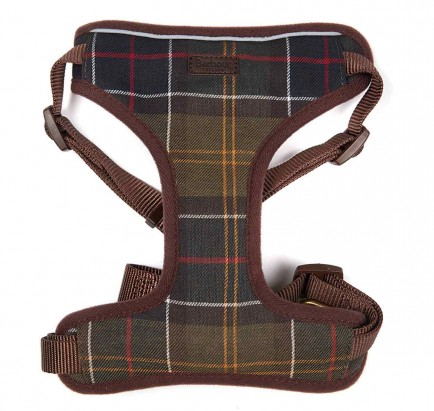 Barbour Travel And Exercise Harness Classic Tartan