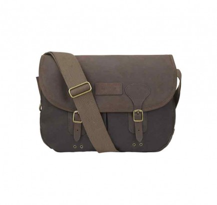 Barbour Wax Leather Tarras Olive