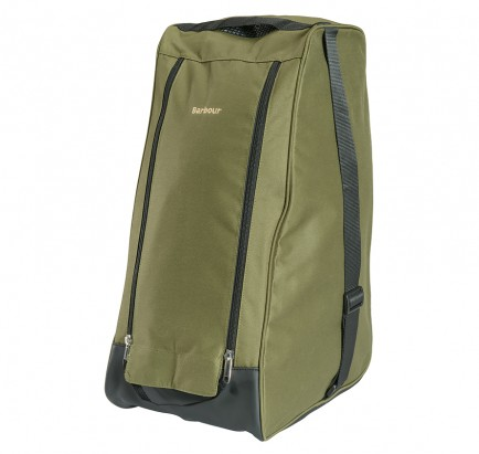 Barbour Wellington Boot Bag Green