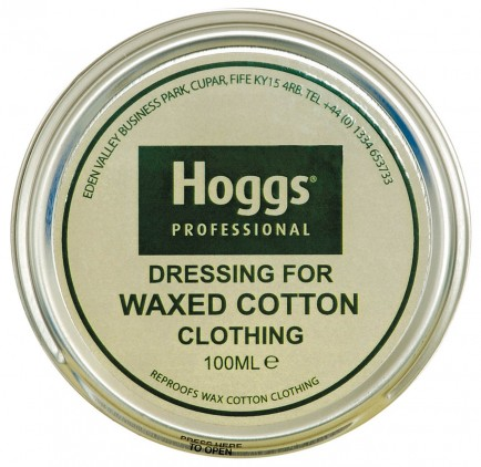 Hoggs of Fife Dressing For Waxed Cotton Clothing (Tin)