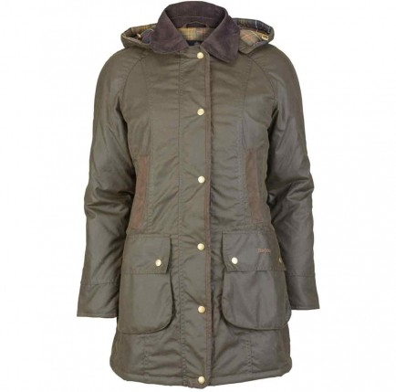 Barbour Bower Wax Jacket Olive