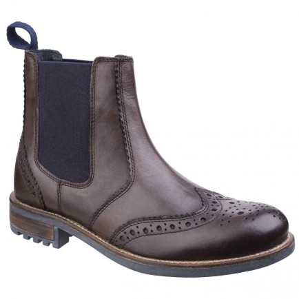 Cotswold Cirencester Chelsea Brogue Brown
