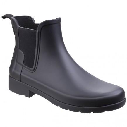 Hunter Original Refined Chelsea Boot Black