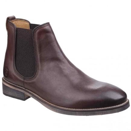 Cotswold Corsham Chelsea Boot Dark Brown