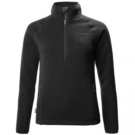 Musto Ladies Super Warm Polartec Windjammer Fleece 1/2 Zip  Liquorice