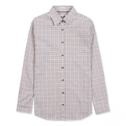 Musto Ladies Country Shirt Berry Check