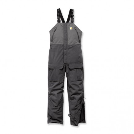 Carhartt 102984 Angler Bib Gravel/Shadow