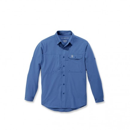 Carhartt 103011 Force Extremes Angler Shirt L/S Federal Blue