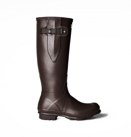 Hunter Norris Side Adjustable Field Boot Bitter Chocolate