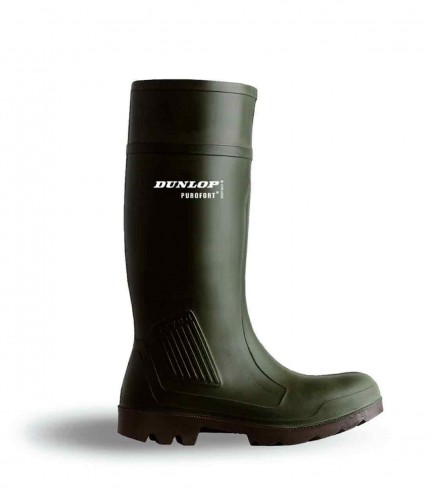Dunlop PNSW Purofort Non Safety Wellington Green