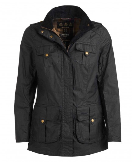 Barbour Defence Lightweight Wax Royal Navy/Classic