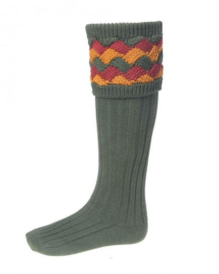 House of Cheviot Bowhill Shooting Sock