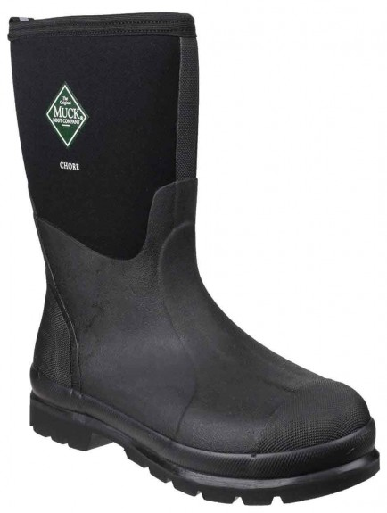 Muck Boot Chore Classic Mid Black
