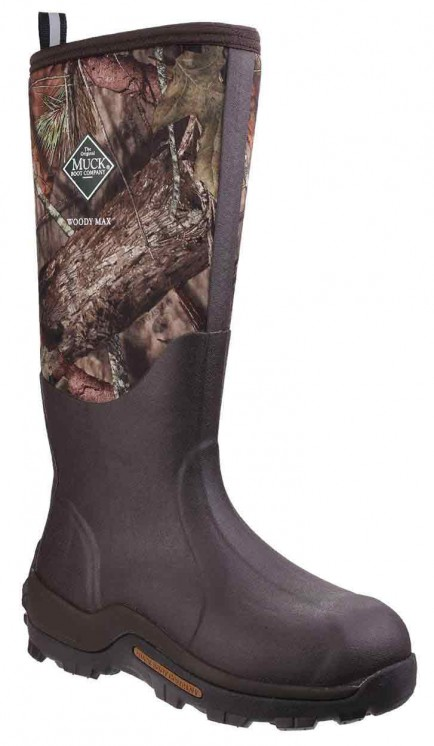Muck Boots Woody Max Cold-Conditions Hunting Boot Mossy Oak Break-Up Country