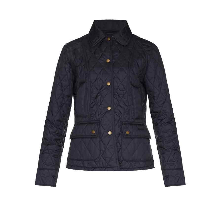7e594a463ff Barbour Summer Beadnell Quilt Navy - Ladies Quilted Jackets ...