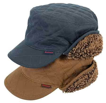 cd9bbac1 Barbour Stanhope Trapper Wax Hat Olive - Country Caps & Hats ...