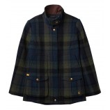 Joules Fieldcoat Tweed Jacket Green Blue
