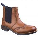 Cotswold Cirencester Chelsea Brogue Tan
