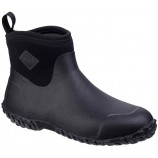Muck Boots Men's Muckster II Ankle All-Purpose Lightweight shoe Black/Black