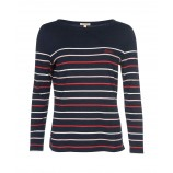 Barbour Hawkins Stripe Top Navy