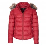 Barbour Irving Quilted jacket Claret