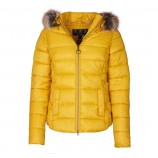 Barbour Irving Quilted Jacket Golden Yellow