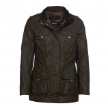 Barbour Flowerdale Wax Archive Olive/Classic