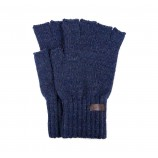 Barbour Fingerless Gloves Navy