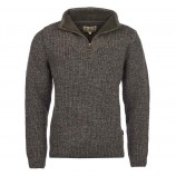 Barbour New Tyne Half Zip Sweater Derby Tweed