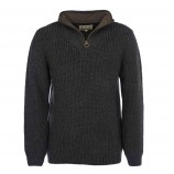 Barbour New Tyne Half Zip Sweater Olive