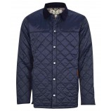 Barbour Thornhill Quilt Navy