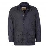 Barbour Hereford Wax Jacket Navy
