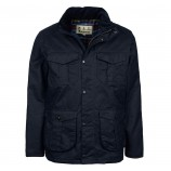 Barbour Latrigg Wax Jacket Navy