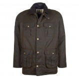 Barbour Hebden Wax Jacket Olive